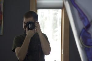 A mirror self-portrati of me